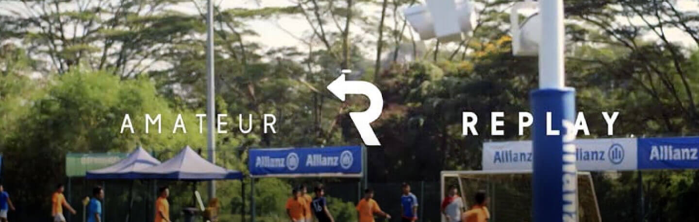 Allianz Amateur Replay – The First Ever Replay For Amateur Footballers